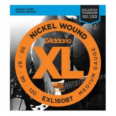 D'Addario EXL160BT XL Balanced Tension Bass Medium 50-120