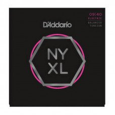 D'Addario NYXL0940Bt Balanced Tension Super Light 09-40