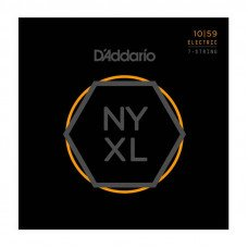 D'Addario NYXL1059 Regular Light 7-String 10-59