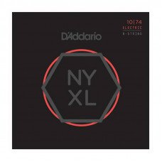 D'Addario NYXL1074 Light Top  Heavy Bottom 8-String 10-74