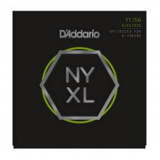 D'Addario NYXL1156 Medium Top  X-Heavy Bottom 11-56