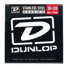 Dunlop DBS30130 Stainless Steel Medium 6 String 30-130