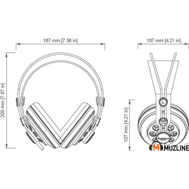 Hi-Fi наушники Superlux HD-681