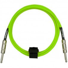 DiMarzio EP1710SS Instrument Cable 10Ft Neon Green