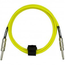 DiMarzio EP1710SS Instrument Cable 10Ft Neon Yellow