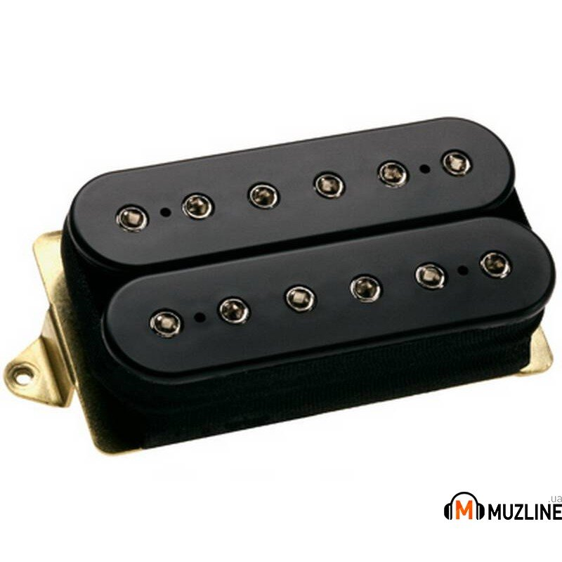 Звукосниматель DiMarzio DP104FBK Super 2 F-Spaced Black