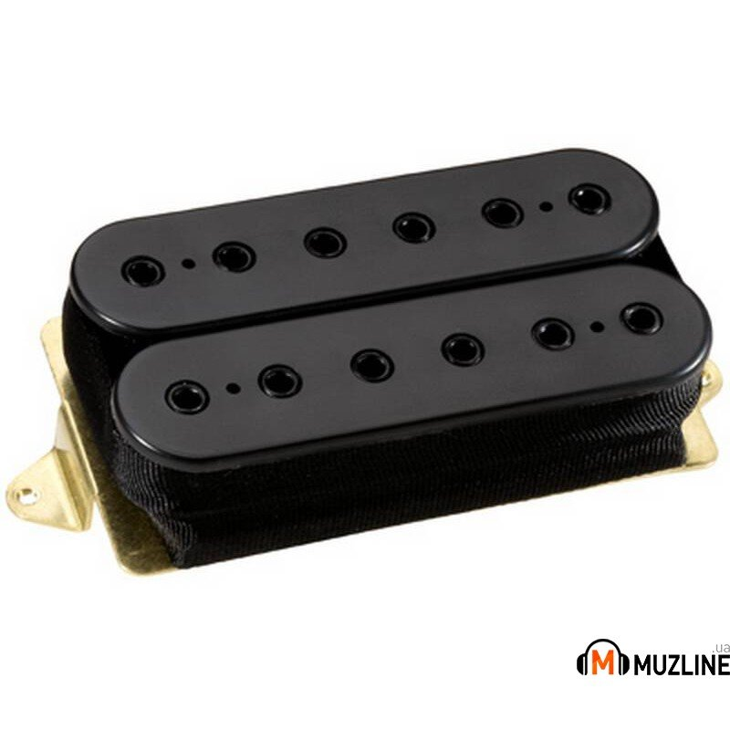 Звукосниматель DiMarzio DP200FBK Steve Morse Model Bridge F-Spaced Black