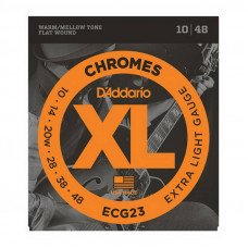 D'Addario ECG23 Xl Chromes Extra Light 10-48
