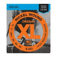 D'Addario EJ22 Xl Jazz Medium 13-56