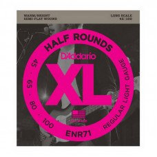 D'Addario ENR71 XL Nickel Half Rounds Bass 45-100