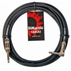 Инструментальный кабель Jack - Jack DiMarzio EP1718SR Instrument Cable 18Ft Black