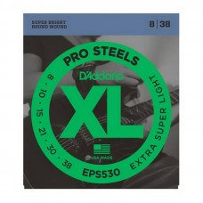 D'Addario EPS530 Xl Pro Steels Extra Super Light 08-38