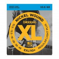 D'Addario EXL110+ Xl Regular Plus 10.5-48