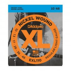 D'Addario EXL110 Xl Regular Light 10-46