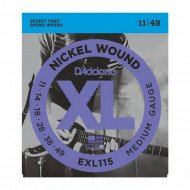 D'Addario EXL115 Xl Blues Jazz Rock 11-49