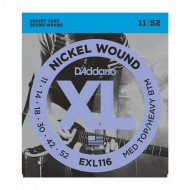 D'Addario EXL116 Xl Medium Top  Heavy Bottom 11-52