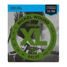 D'Addario EXL117 Xl Medium Top  X-Heavy Bottom 11-56
