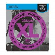 D'Addario EXL120-7 Xl Super Light 7-String 09-54