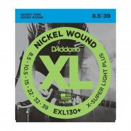 D'Addario EXL130+ Xl Extra Super Light Plus 08.5-39