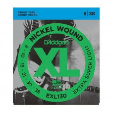 D'Addario EXL130 Xl Extra Super Light 08-38