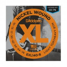 D'Addario EXL140-8 Light Top  Heavy Bottom 8-String 10-74