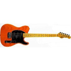 Электрогитара G&L Asat Z3 Clear Orange, Black, maple