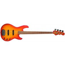 Бас-гитара G&L JB2 Four Strings Cherryburst, rosewood, fretless