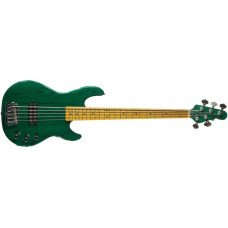 Бас-гитара G&L L1505 Five Strings Clear Forest Green, maple