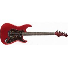 Электрогитара G&L Legacy Candy Apple Red, 3-ply Tortoise Shell maple