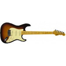 Электрогитара G&L Legacy Tobacco Sunburst, 3-ply Vintage Creme, maple