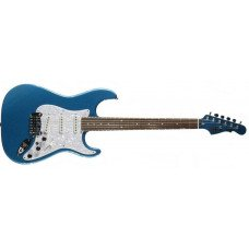 Электрогитара G&L S500 Lake Placid Blue, 3-ply Pearl pickguar, Rosewood