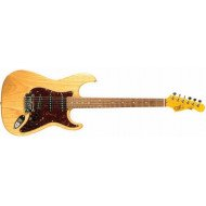 Электрогитара G&L S500 Natural Gloss, 3-ply Tortoise Shell, Rosewood