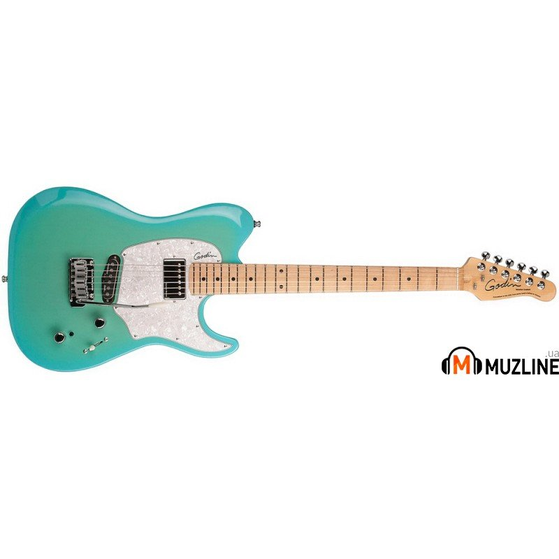 Электрогитара Godin Session Custom 59 Limited Coral Blue HG MN with Bag