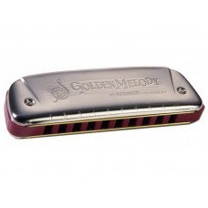 Губная гармошка Hohner Golden Melody G-Major