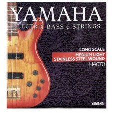 Yamaha H4070 Stainless Steel Medium Light 6 String 32-126