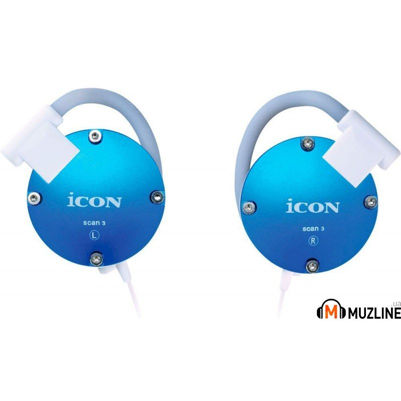 Наушники iCon SCAN-3 Blue