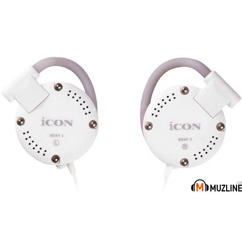 Наушники iCon SCAN-3 White