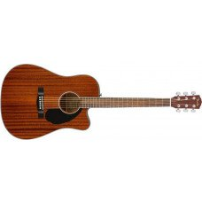 Электроакустическая гитара Fender CD-60SCE Dreadnоught Mahogany WN