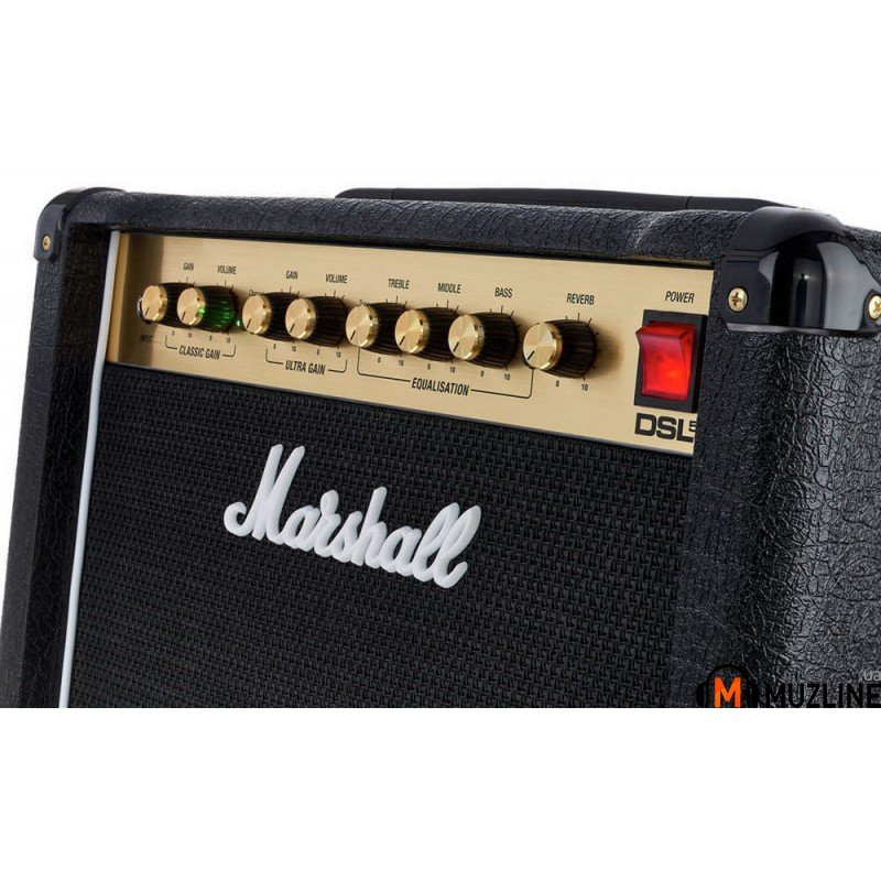 Комбоусилитель для электрогитары Marshall DSL5CR