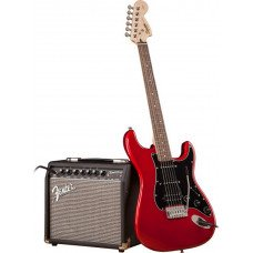 Электрогитара Fender Squier Strat Pack HSS Candy Apple Red