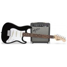 Электрогитара Fender Squier Strat Pack SSS Black