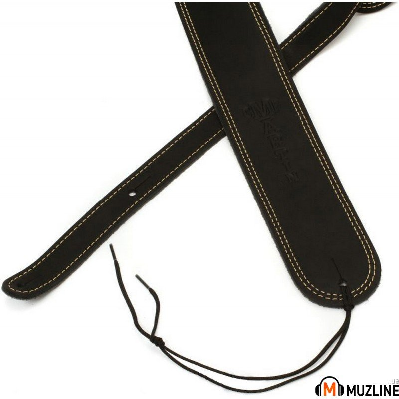Martin 18A0013 Black Ball Glove Leather Guitar Strap