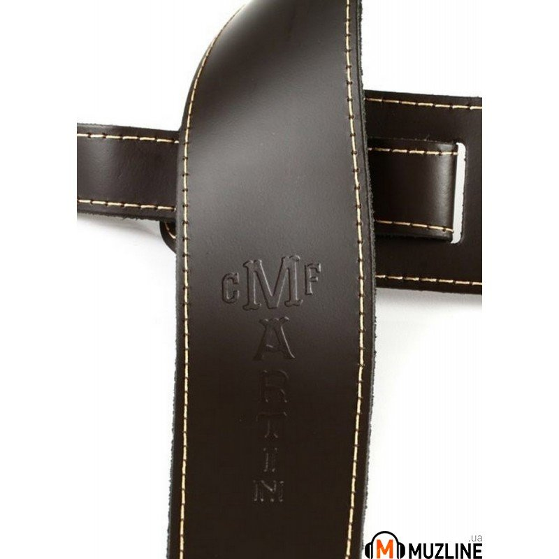 Martin 18A0045 Extendable Brown Slim Style Guitar Strap
