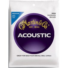 Martin M550 Traditional Acoustic 92/8 Phosphor Bronze Medium (13-56)