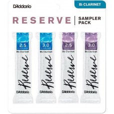 Трость D'Addario Reserve Reed Sampler Pack Filed - Bb Clarinet #2.5/3.0