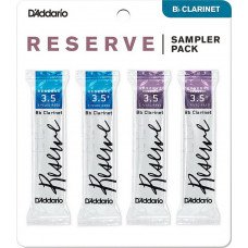 Трость D'Addario Reserve Reed Sampler Pack Filed - Bb Clarinet #3.5/3.5+