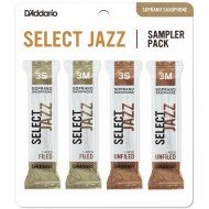 Трость D'Addario Select Jazz Reed Sampler Pack - Soprano Sax 3S/3M