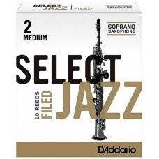 D'Addario Select Jazz - Soprano Sax 2M - 10 Box