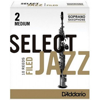 Трость D'Addario Select Jazz - Soprano Sax 2M - 10 Box