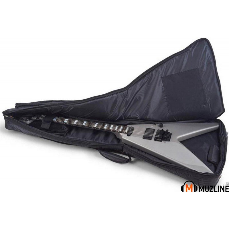 Чехол для электрогитары RockBag RB20506 FV B Deluxe-Flying V Electric Guitar